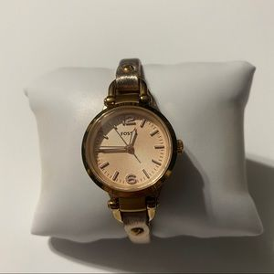 Fossil Watch Rose Gold & Gold